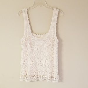 Needles and Pins Lace Tank